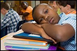 black boys in school