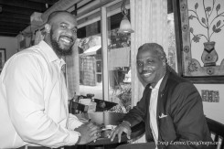 Eric Strong and Charles Boyd, Director of Community Engagement at Los Angeles Urban League.