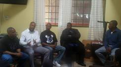 "Panel Discussion, ""Does America Hate Black Men? ""."